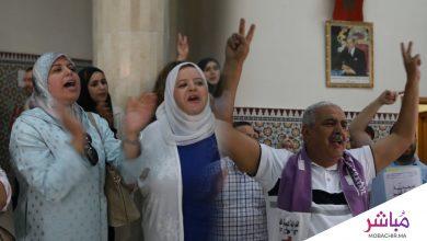 كتاب الضبط بطنجة ينتفضون ضد وزارة العدل وهذه مطالبهم (فيديو) 3