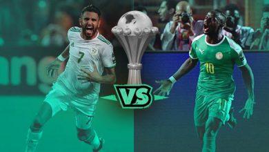 كرونولوجيا وصول المنتخب الجزائري والسنغالي إلى نهائي أمم إفريقيا 5