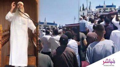 طنجة..جنازة مهيبة للشيخ العربي العمراني 5
