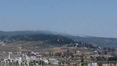 اندلاع حريق بغابة الشْراقة بمدخل مدينة طنجة 3