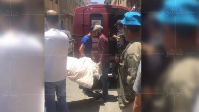 طنجة..وفاة سيدة بالشارع العام بعد تأخر سيارة الإسعاف 2