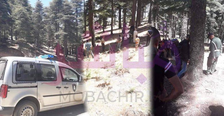 مصدر يستبعد فرضية الإنتحار..العثور على جثة شاب عشريني معلقة وسط غابة بشفشاون 1