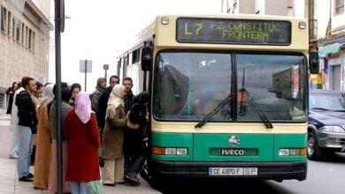 بمناسبة العيد حافلات النقل العمومي بسبتة مجانا 2