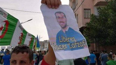 """صور  معتقلي الريف ترفرف في المسيرات الداعية الى """"العصيان المدني"""" بالجزائر 5"""