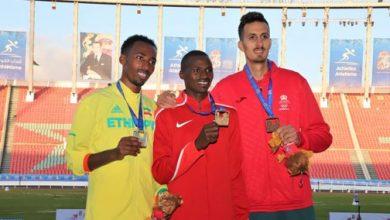 """ابن وزان يهدي المغرب ميدالية النحاسية في سباق """"3000"""" متر موانع 3"""