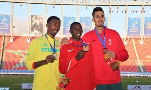 """ابن وزان يهدي المغرب ميدالية النحاسية في سباق """"3000"""" متر موانع 1"""