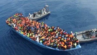 البحرية الملكية تنقذ ازيد من  60 مهاجرا بساحل الحسيمة 2