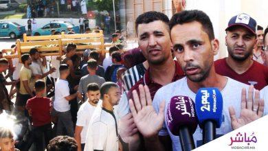 الحزن يخيم على منطقة بني مكادة وردود فعل غاضبة من طرف الساكنة بعد مقتل شاب في حادث  كريساج 1
