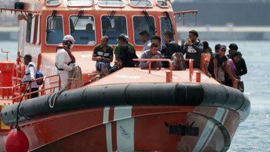 إنقاذ 22 مهاجرا مغربيا حاصرتهم الأمواج في عرض البحر 4