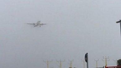 الضباب يمنع الطائرات من النزول في مطار طنجة الدولي 4