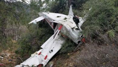 استنفار أمني بعد سقوط طائرة خفيفة ضواحي طنجة 5