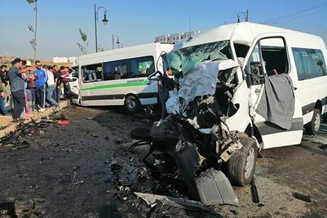 29 قتيلا و 2128 جريحا حصيلة حوادث السير بالمناطق الحضرية خلال الأسبوع الماضي 1