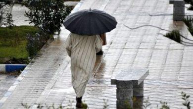 أجواء غائمة مصحوبة بأمطار رعدية غذا الإثنين 3