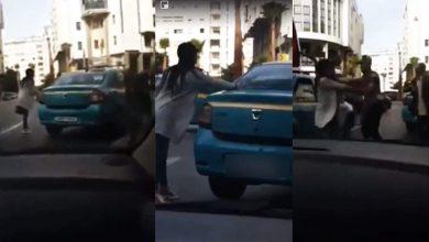 طنجة..تقديم سائق طاكسي وفتاة تبادلا العنف أمام النيابة العامة 4