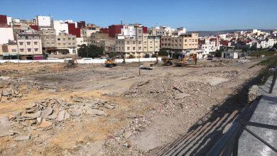 """ساحة سوق """"بئر الشفاء"""" تحتضن أكبر مشروع ترفيهي بمقاطعة بني مكادة 5"""