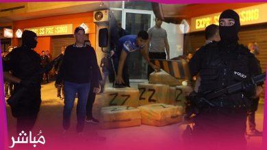 وسط حراسة أمنية تم نقل 9 أطنان من الحشيش نحو مقر إدارة الجمارك بطنجة 3