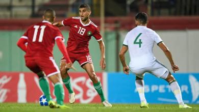 """المنتخب المغربي يقسو على الجزائر بثلاثية ويتأهل لنهائيات """"الشان"""" 3"""