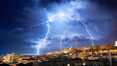 نشرة خاصة.. أمطار رعدية بعدد من أقاليم المملكة 3