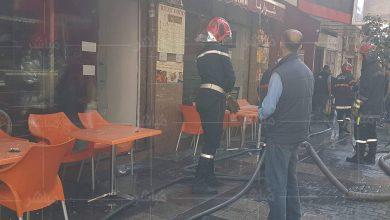 الوقاية المدنية تسيطر على حريق بأحد مطاعم طنجة 3