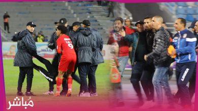 لاعبو حسنية أكادير يتدخلون لمنع اعتقال أحد الجماهير السوسية 2