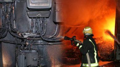 طنجة..تماس كهربائي يتسبب في حريق مهول بإحدى المنازل بحي الرهراه 4