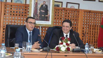 أمكراز ومورو يتباحثان سبل تعزيز الشراكة بين جامعة الغرف ووزارة التشغيل 6
