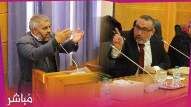 العبدلاوي يهدد مستشار بيجيدي بالطرد من دورة المجلس الجماعي 6