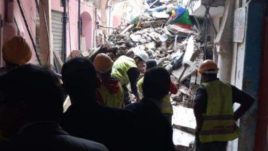 سقوط أولى ضحايا انهيار منزل بالمدينة العتيقة لطنجة 5