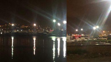 """""""سودور"""" يطعن شخصا ويفر سباحة في ميناء طنجة 5"""