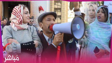 وقفة للمفوضين القضائيين أمام استئنافية طنجة احتجاجا على اعتقال زملاء لهم 5