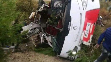 مصرع 8 أشخاص وإصابة 42 آخرون في حادثة سير  ضواحي تازة 2