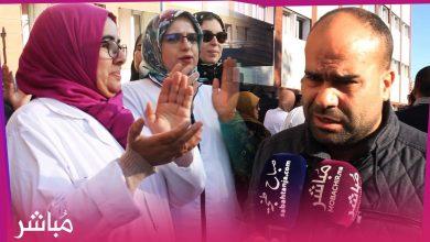 نقابيو قطاع الصحة يحتجون بمستشفى محمد الخامس بطنجة بسبب تردي الوضع الصحي 1
