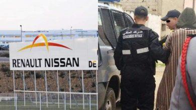 الدرك يعتقل منفذ عمليات سرقة مصنع رونو بطنجة 4