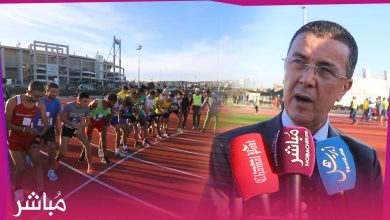 افتتاح حلبة لألعاب القوى بمدينة طنجة 6