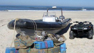 الدرك البحري يعترض قارب محمل بالحشيش بسواحل أصيلة 4