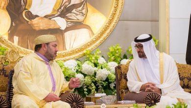 الملك محمد السادس يزور صديقه الشيخ محمد بن زايد بمقر اقامته بالمغرب (صورة) 4