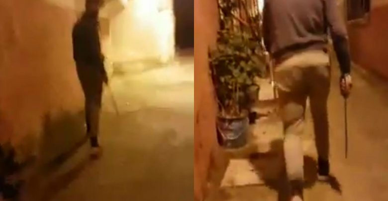 """حصري..الأمن يوقف """"عِينية"""" بعد مداهمة منزله بحي الدرادب 1"""