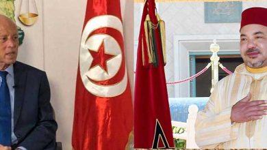 الملك محمد السادس يتباحث مع الرئيس قيس سعيد هاتفيا 3