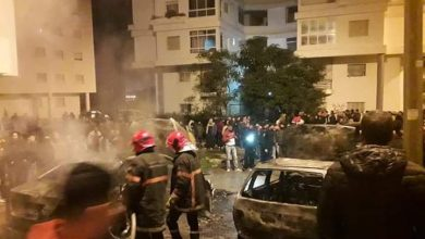 حريق مجهول يلتهم سيارتين بالمجمع الحسني بطنجة 4