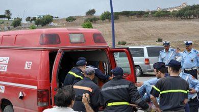 إصابة 8 أشخاص في حادثة سير خطيرة ضواحي طنجة 5
