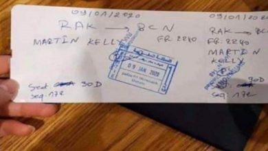 تذكرة طيران مكتوبة باليد تثير السخرية في مواقع التواصل الاجتماعي 2