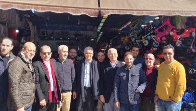 نزار بركة يبدأ حملته الإنتخابية من سوق كاسباراطا بطنجة 4