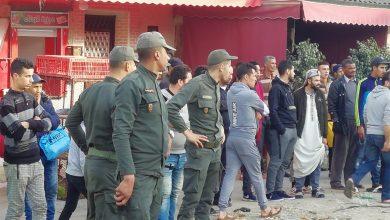 السلطات المحلية تشن حملة لتحرير الملك العمومي بحي بنكيران 5