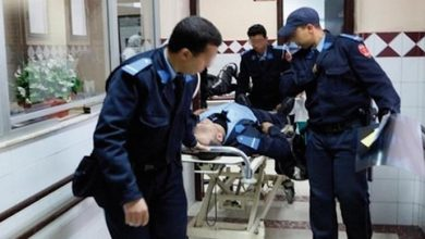 إنقاذ مقدم شرطة هدّد برمي نفسه من مبنى الأمن 5
