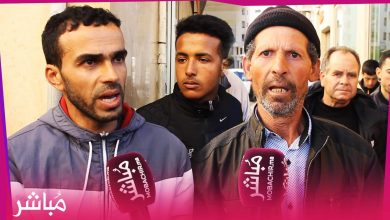ساكنة منطقة الزميج يحتجون أمام المحكمة ويتهمون شخص نافذ بالترامي على أراضيهم 5