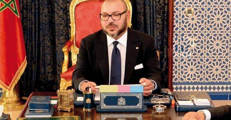 الملك محمد السادس يوجه خطابا الى الشعب المغربي 1