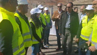 اعمارة يطلع على تقدم أشغال عدة مشاريع بإقليم الحسيمة 3