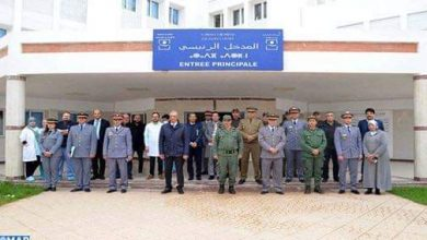 """أطر طبية عسكرية تحل بالحسيمة للمساهمة في التصدي لوباء """"كورونا"""" 3"""