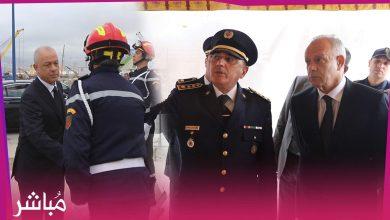 الوقاية المدنية بطنجة تحتفي بيومها العالمي بحضور الوالي مهيدية وشخصيات عسكرية ومدنية 1