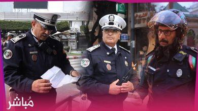 أمن طنجة يغلق الشوارع الرئيسية ويشدد إجراءات المراقبة 1